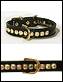 black jeweled collar