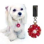 Red jeweled dog collar