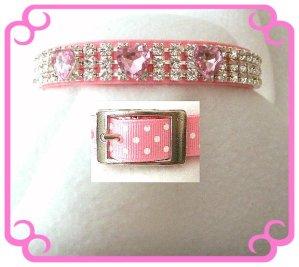 Jewled dog collar